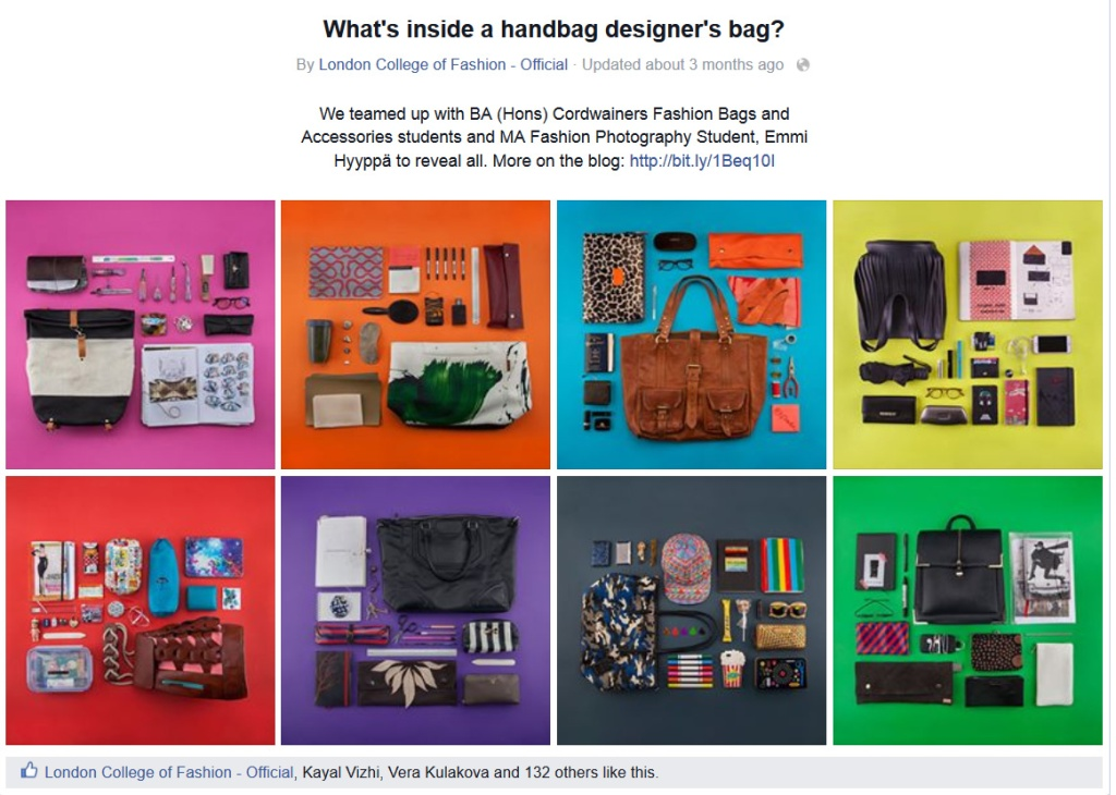 What's inside a handbag designer's bag?